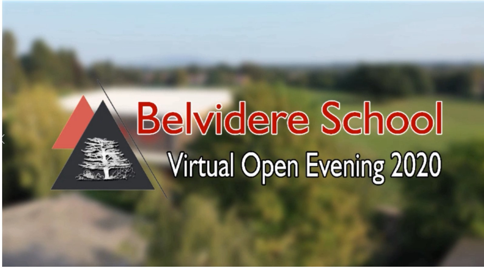 Belvidere Open Evening Promo